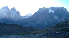 Stort färgrikt berg arkivbilder