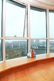 Stort fönster Arkivfoton