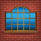 Stort fönster vektor illustrationer