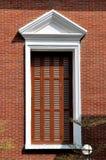 Stort fönster i geometriskt royaltyfri foto