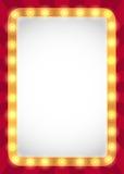 Stort festtältram för ljusa kulor royaltyfri illustrationer