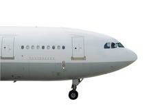 stort flygplan royaltyfri fotografi