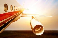 Stort flygplan Royaltyfri Bild