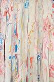 Den färgrika lodlinjen för rubber remsor mönstrar Royaltyfria Bilder