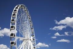stort hjul Royaltyfri Foto