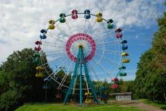 stort hjul Royaltyfria Bilder
