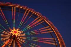 stort hjul Arkivbilder