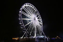 stort hjul för ferris Arkivfoto