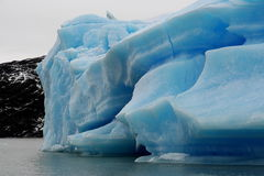 Stort isberg i nationalparken för Los Glaciares, Argentina Royaltyfri Bild
