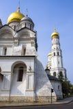 stort ivan kremlin moscow för klocka torn royaltyfria foton