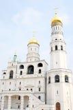 stort ivan torn för klocka kremlin moscow Lokal för Unesco-världsarv Royaltyfri Fotografi