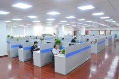 stort kontor arkivbild