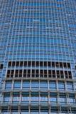 stort kontor för byggnadscloseup Arkivfoto