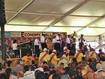 Stort lätt för New Orleans jazz & för arvfestival Royaltyfri Bild