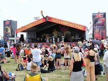 Stort lätt för New Orleans jazz & för arvfestival Royaltyfri Fotografi