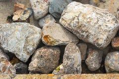 Stort litet vaggar textur Fotografering för Bildbyråer