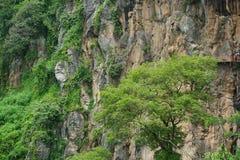 stort marmorera klippor royaltyfri bild