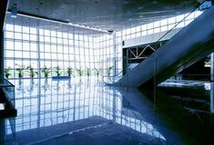 stort modernt för korridor arkivfoto