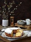 Stort muffin och ris av pilen arkivbilder