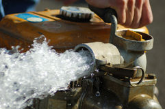 stort pumpvatten Royaltyfri Foto
