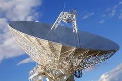 stort radioteleskop Royaltyfri Bild