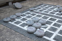 stort schackkinesstycke Royaltyfria Foton