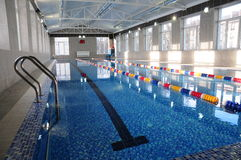 Stort simning-bad Fotografering för Bildbyråer