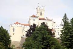 Stort slott Arkivbild