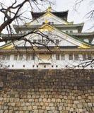 stort slott Royaltyfria Bilder