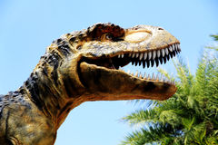 stort strömförande tyranosaurusen för munrexformat Royaltyfri Bild