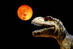 stort strömförande tyranosaurusen för munrexformat Fotografering för Bildbyråer