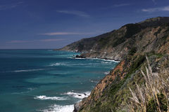 Stort Sur kust- landskap Royaltyfri Fotografi