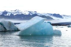Stort sväva för isblått royaltyfri bild