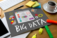 Stort system för datalagring som knyter kontakt det Technologie ordmolnet Infor Arkivbilder