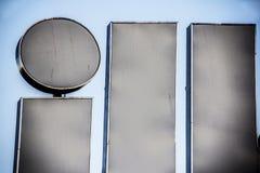 Stort tecken av bokstäver dåligt Fotografering för Bildbyråer