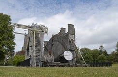 stort teleskop Arkivfoto