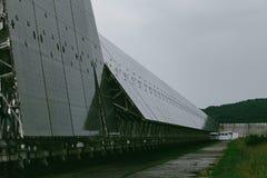Stort teleskop för radio RATAN-600 Royaltyfria Bilder