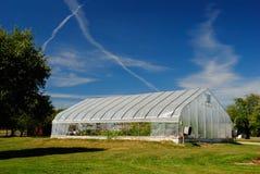 Stort växthus Royaltyfri Fotografi
