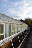 Stort växthus Fotografering för Bildbyråer