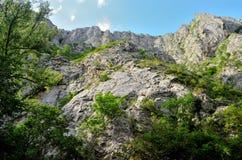 Stort vaggar av bergen för Turda ` s Arkivfoto