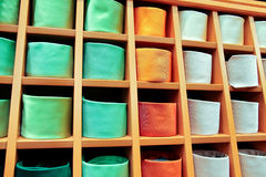 Stort val av slipsar Arkivfoto