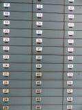 Storting in een bank royalty-vrije stock afbeeldingen