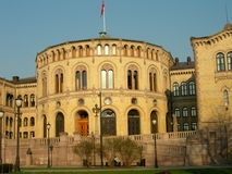 Stortinget Royalty Free Stock Photography