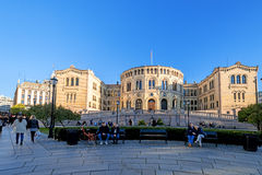 Stortinget Stock Images