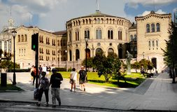 Stortinget, Parliament of Norway Royalty Free Stock Image