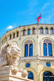 Stortinget, the seat of Norway's parliament, Oslo Royalty Free Stock Photography