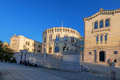 Stortinget side view Royalty Free Stock Photo