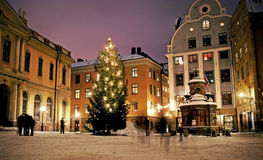 Stortorget, Éstocolmo, Sweden Imagens de Stock Royalty Free