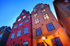 Stortorget at night Stock Images