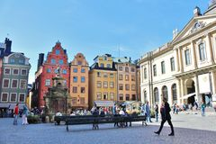 Stortorget in the Old Town Royalty Free Stock Image